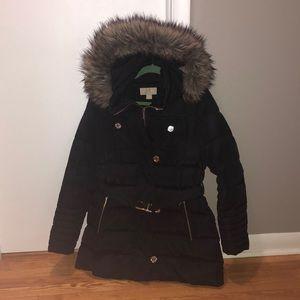 MICHAEL Michael Kors belted winter jacket